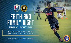 NCFC Faith & Family Night