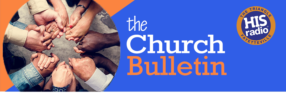 Church Bulletin Slider